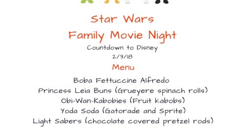 Vernon Family Movie Night: Star Wars