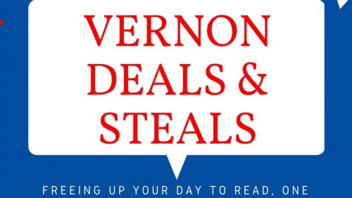 Vernon Steals & Deals 4/12/18