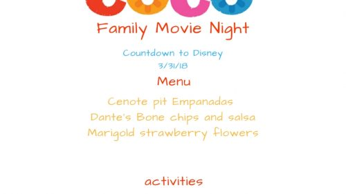 Vernon Family Movie Night: Coco